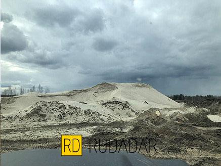 Карьер Мехелево песок карьерный