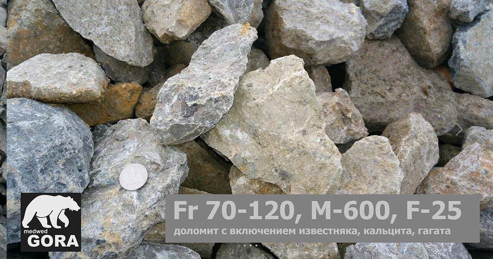 Rарьер Медведь Гора фото щебня 70-120