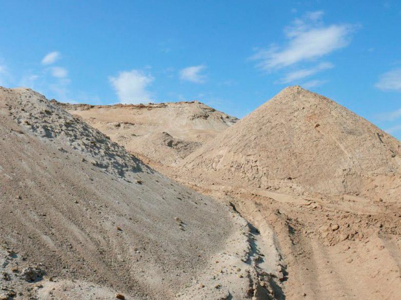 Челюскинский карьер. песок фото