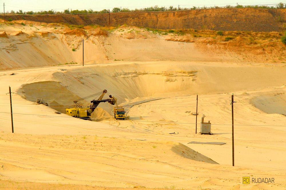 Орловский песчаный карьер