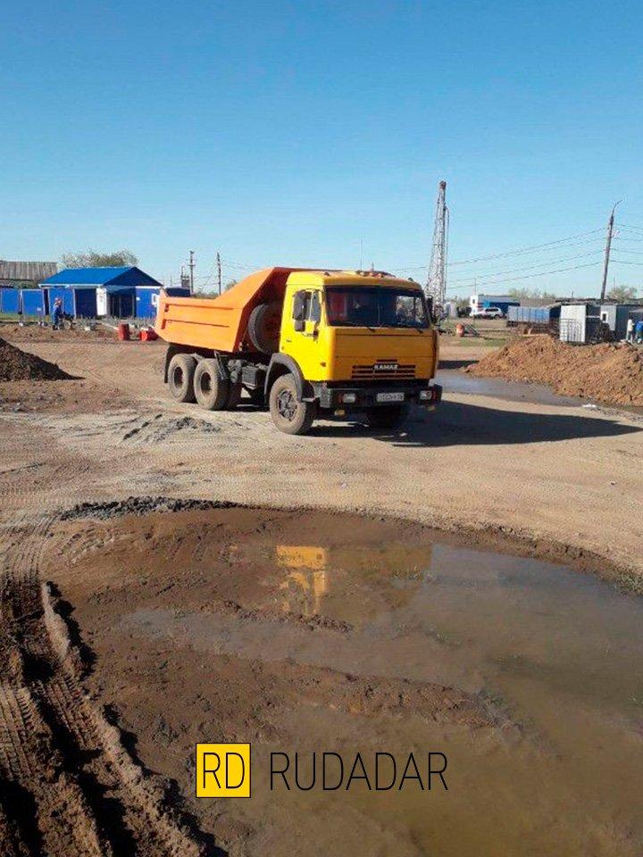 доставка песка в Оренбурге