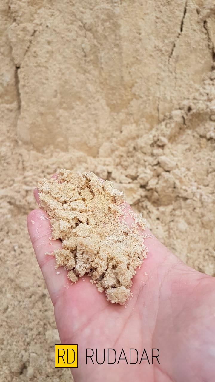 Карьерный песок на базе