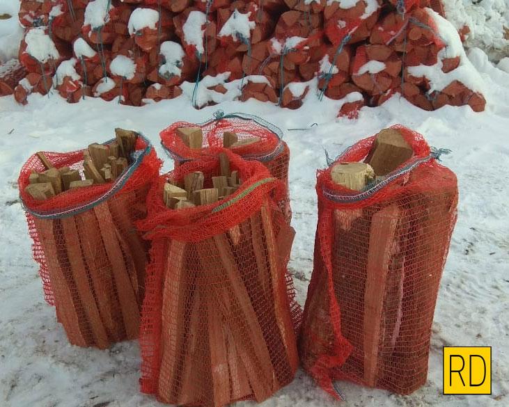заказать дрова в сетках