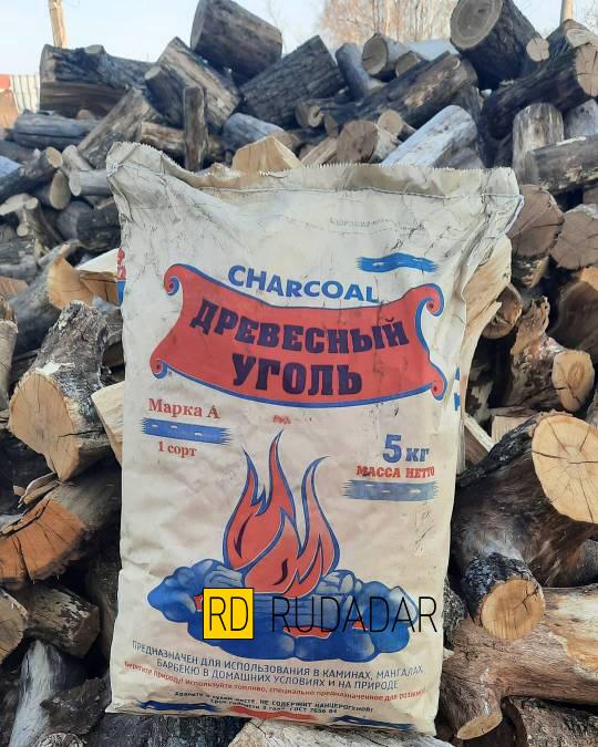 уголь древесный дубовый 5 кг