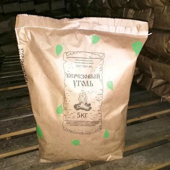 купить уголь древесный в Самаре