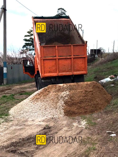 доставка песка в Самаре