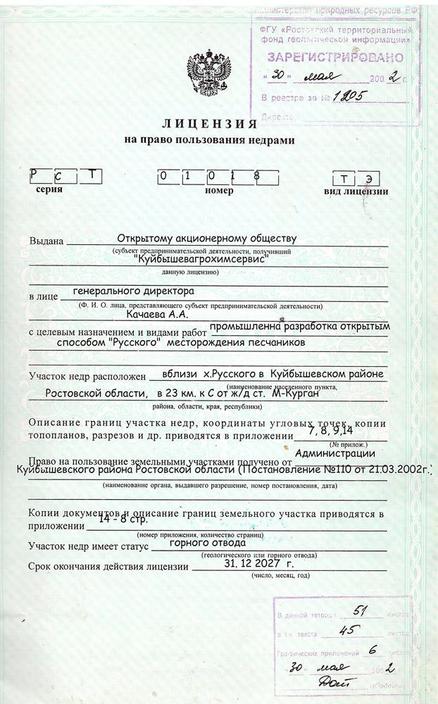 Куйбышевский щебзавод карьер